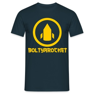 Bolt Ya Rocket - Men's T-Shirt
