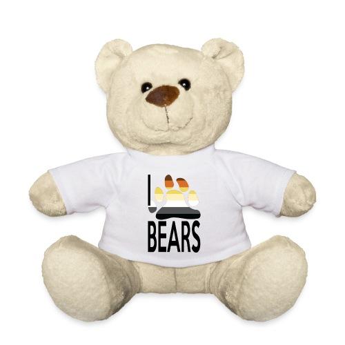 Mascotte I love bears - Nounours