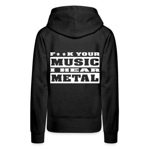 Metal Girl sweatshirt - Women's Premium Hoodie