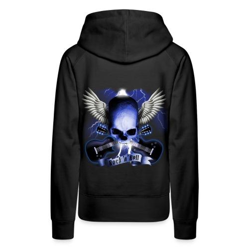 Rock N' Roll Girl sweatshirt - Women's Premium Hoodie