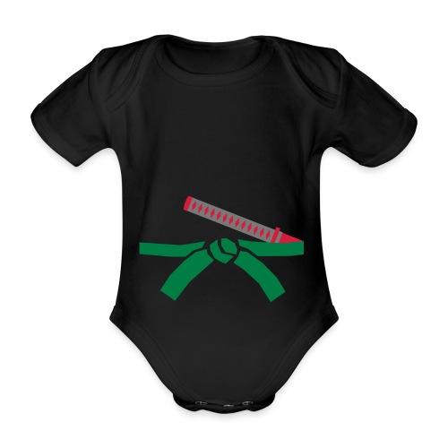 romper1 - Baby bio-rompertje met korte mouwen