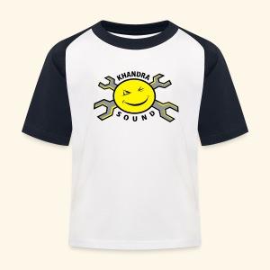 Khandra sound Kids' Baseball T-Shirt - Kids' Baseball T-Shirt