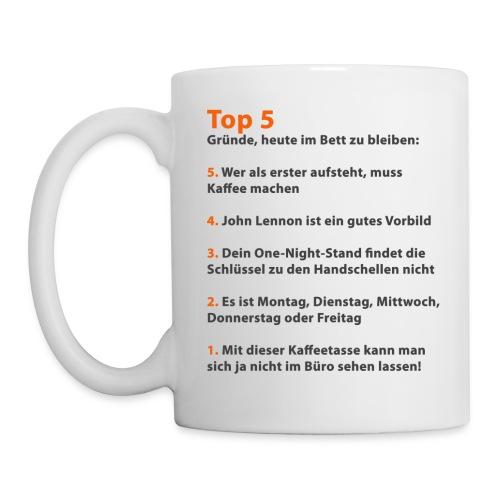 kleinergag Tasse Bett - Tasse