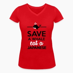 Dineren - Save a Whale eat a Japanese T-shirts