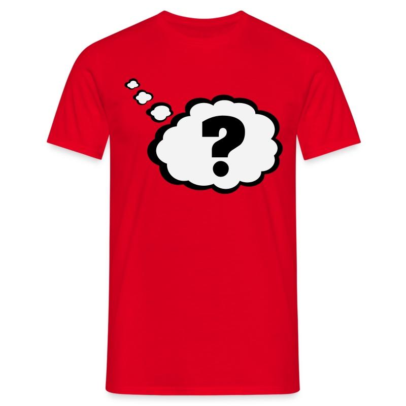 Tee shirt point d 39 interrogation dans la bulle de pens e - Code promo private sport shop frais de port ...