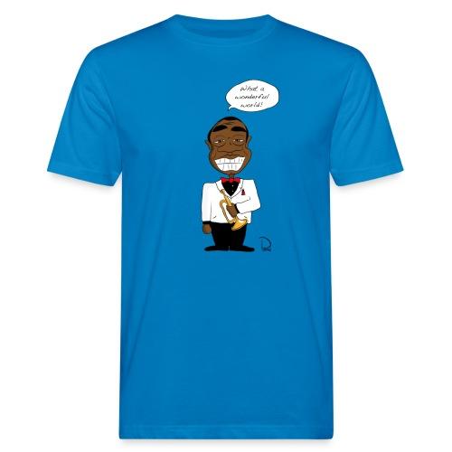 Louis Armstrong  - Männer Bio-T-Shirt