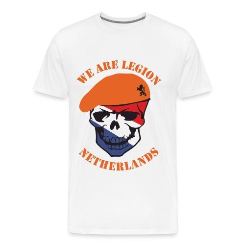 We Are Legion Netherlands T-Shirt - Men's Premium T-Shirt