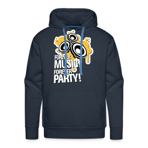 Forever Music! Forever Party! Pullover & Hoodies - Männer Premium Hoodie