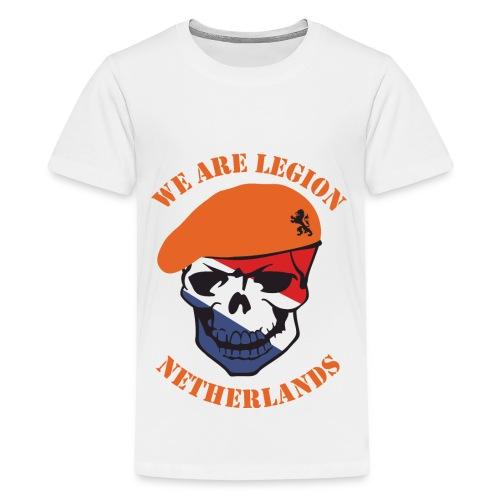 We Are Legion Netherlands Teenager T-Shirt - Teenage Premium T-Shirt