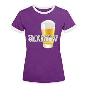 Beer O'Clock - Women's Ringer T-Shirt