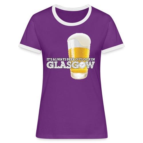 Beer O'Clock - Women's Ringer T-Shirt
