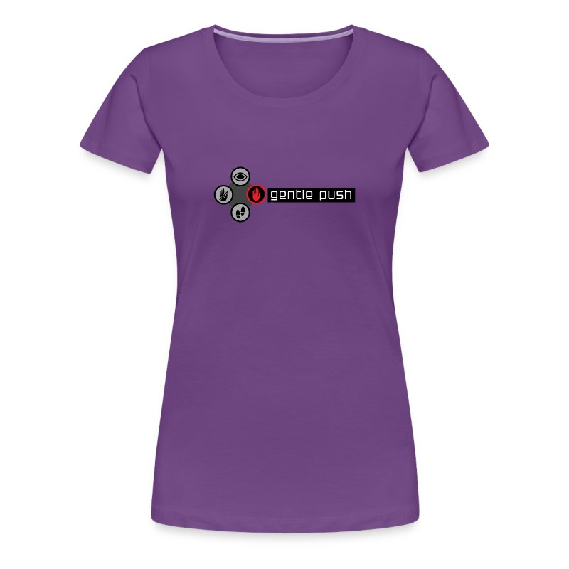 Gentle Push (Women's) - Women's Premium T-Shirt