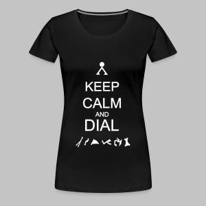 T-shirt femme (woman) Just Dial - Women's Premium T-Shirt