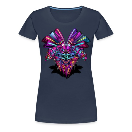 Reflection - Frauen Premium T-Shirt