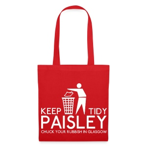 Keep Paisley Tidy - Tote Bag