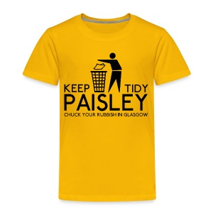 Keep Paisley Tidy - Kids' Premium T-Shirt