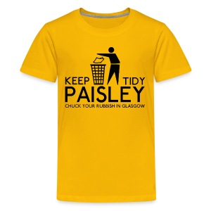 Keep Paisley Tidy - Teenage Premium T-Shirt