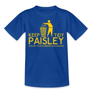 Keep Paisley Tidy - Kids' T-Shirt