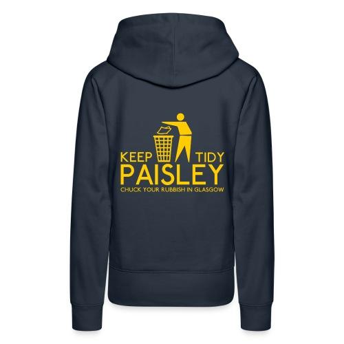 Keep Paisley Tidy - Women's Premium Hoodie