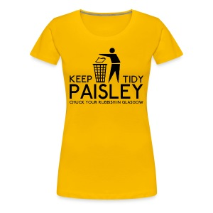 Keep Paisley Tidy - Women's Premium T-Shirt