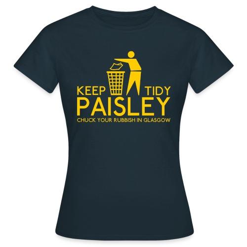 Keep Paisley Tidy - Women's T-Shirt