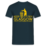 T-Shirts ~ Men's T-Shirt ~ Keep Glasgow Tidy