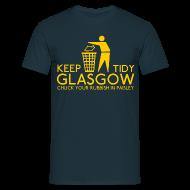 T-Shirts ~ Men's T-Shirt ~ Keep Glasgow Tidy