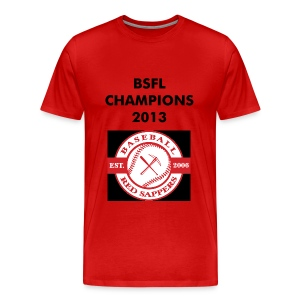 MENS RED TSHIRT CHAMPIONS - Men's Premium T-Shirt