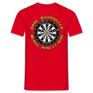 DART ONE - Mannen T-shirt