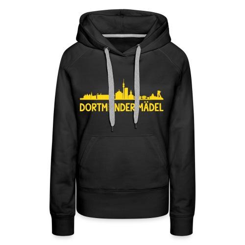 Dortmunder Mädel Hoodie - Frauen Premium Hoodie