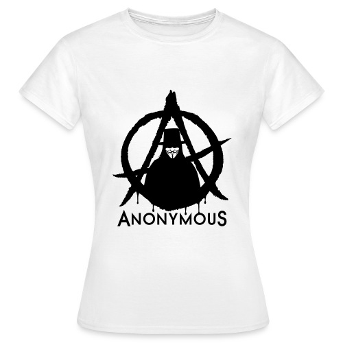 Frauen T-Shirt - Anonymous