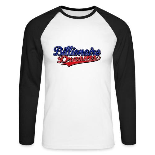 Unisex Billionaire Dreams/CBK Varsity Top - Men's Long Sleeve Baseball T-Shirt
