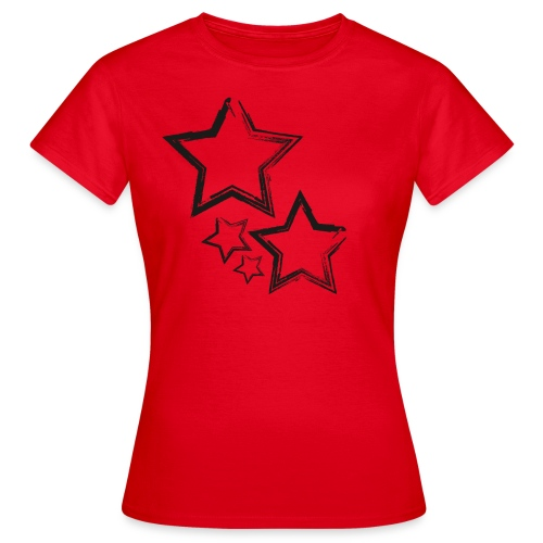 sterne - Frauen T-Shirt
