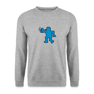 dedicated to keith harring - Sweat-shirt Homme