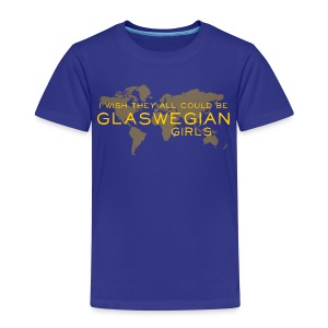 Glaswegian Girls - Kids' Premium T-Shirt