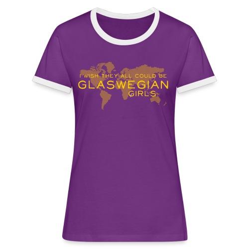 Glaswegian Girls - Women's Ringer T-Shirt