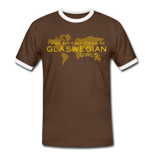 Glaswegian Girls - Men's Ringer Shirt