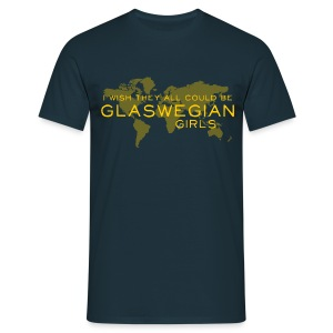Glaswegian Girls - Men's T-Shirt