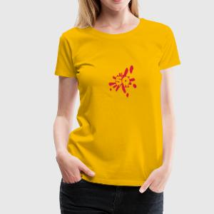 Ink Splash Number 50 Design Camisetas - Camiseta premium mujer