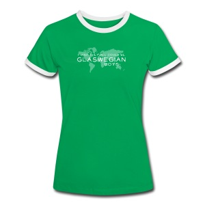 Glaswegian Boys - Women's Ringer T-Shirt