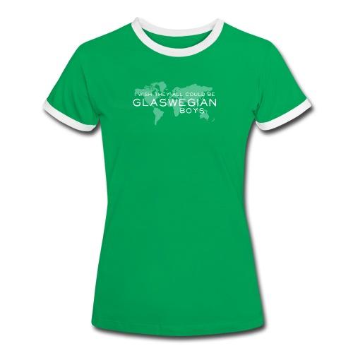 Glaswegian Boys - Women's Ringer T-Shirt