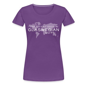 Glaswegian Boys - Women's Premium T-Shirt
