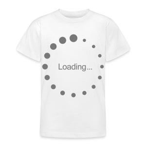 kids loading t-shirt - Teenage T-shirt