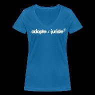 Tee shirts ~ Tee shirt col V Femme ~ AdopteUnJuriste /F