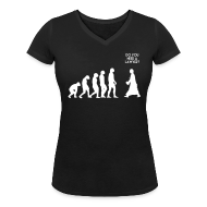 Tee shirts ~ Tee shirt col V Femme ~ L'évolution