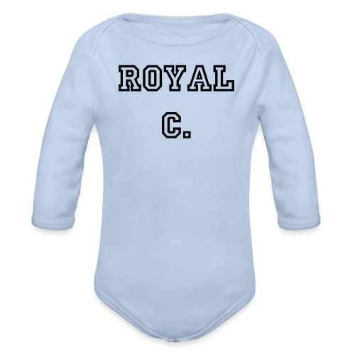 Body Baby Royal C. - Baby Bio-Langarm-Body