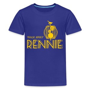 Walk Away Rennie - Teenage Premium T-Shirt