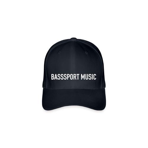 BSM cap blk/wht - Flexfit Baseball Cap