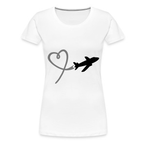 Loving Airplane Men - Women's Premium T-Shirt