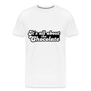 Chocolate t-shirt men - Men's Premium T-Shirt